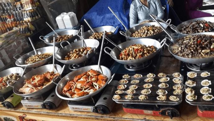 vựa hải sản cần giờ