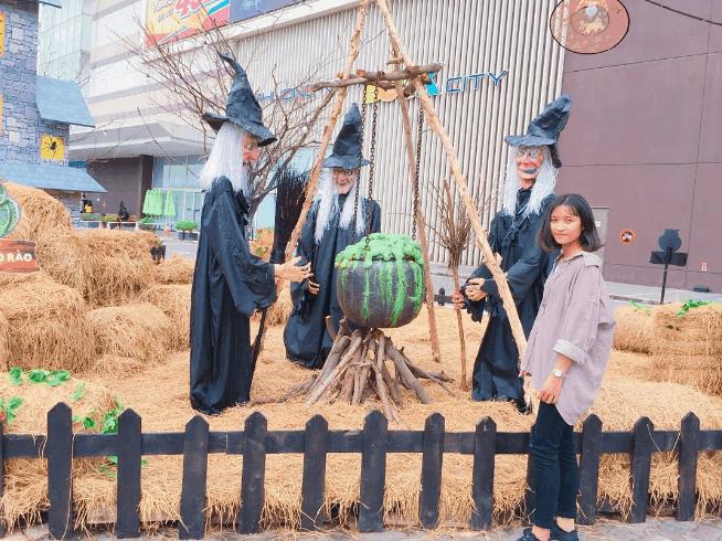 ngôi làng phù thủy