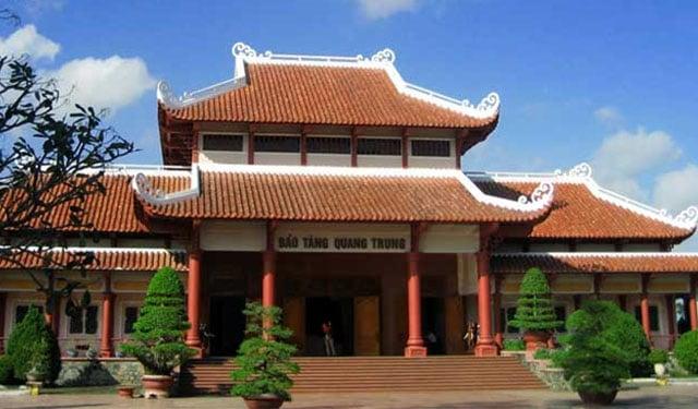 Cấu trúc bảo tàng Quang Trung (Ảnh: ST)