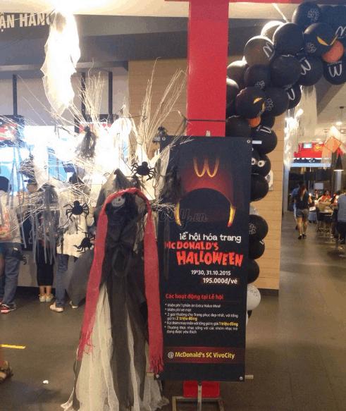 Một địa chỉ quán décor Halloween ở Sài Gòn