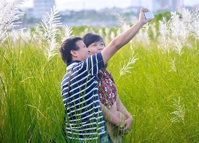 Cánh đồng cỏ lau trắng Đà Nẵng 05