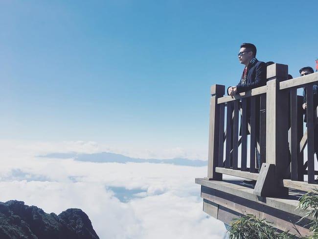 Ngắm nhìn biển trời mây núi từ độ cao hơn 3000m