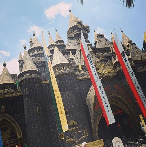 Lâu đài phép thuật Harry Potter này được xây dựng dựa theo phiên bản gốc (ảnh sưu tầm)