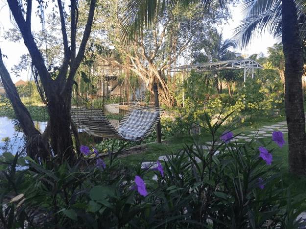 nhà vườn nghỉ dưỡng