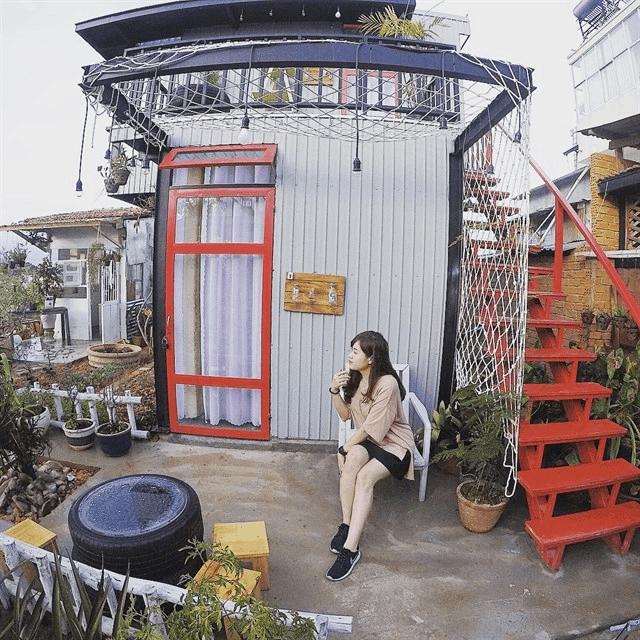 Hostel lộ thiên ở Đà Lạt