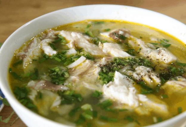 Món bánh canh cá lóc ở Sài Gòn (Ảnh ST)