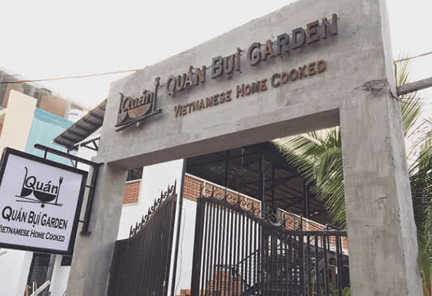 Quán Bụi Garden (Ảnh ST)