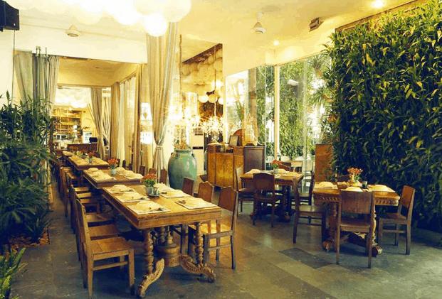 Nhà hàng Gạo (Ảnh ST)