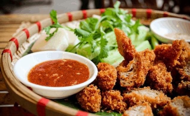 Những món ăn vặt ngon (Ảnh ST)