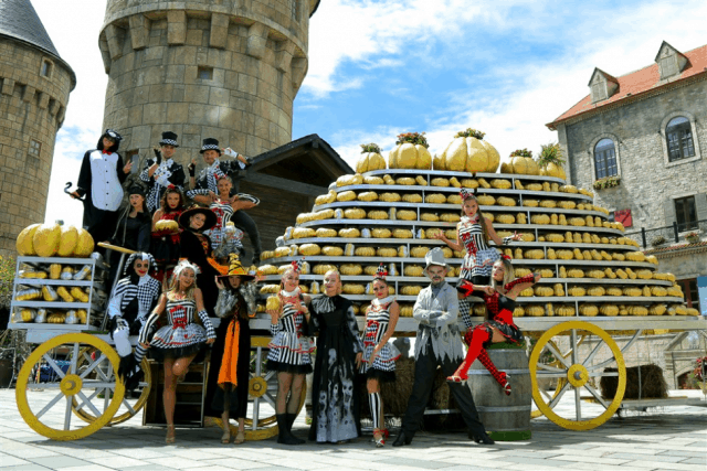 Lễ hội Halloween Sun World Bà Nà Hills 2017 tại Đà Nẵng 01
