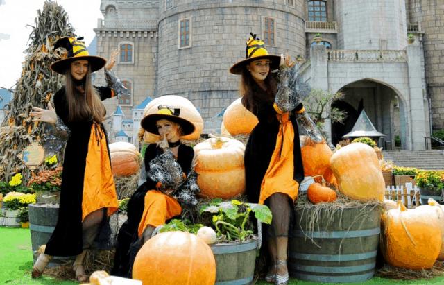Lễ hội Halloween Sun World Bà Nà Hills 2017 tại Đà Nẵng 02
