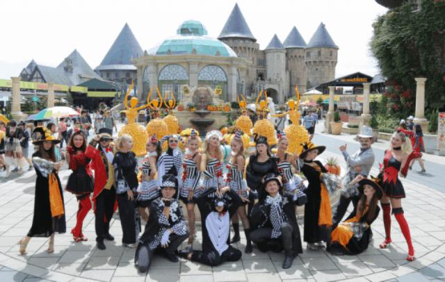 địa điểm vui chơi Halloween Đà Nẵng 01