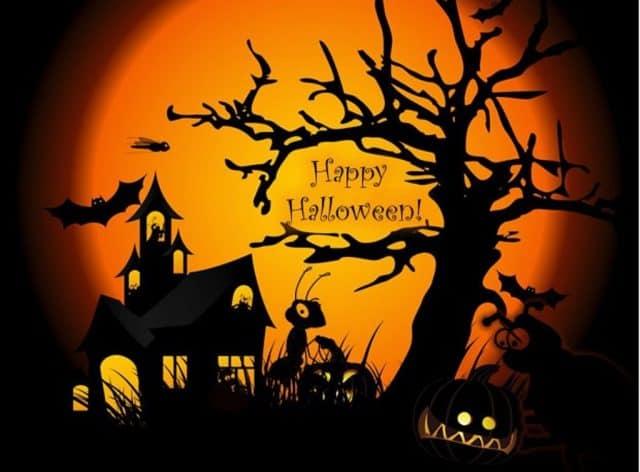 đi chơi lễ hội Halloween