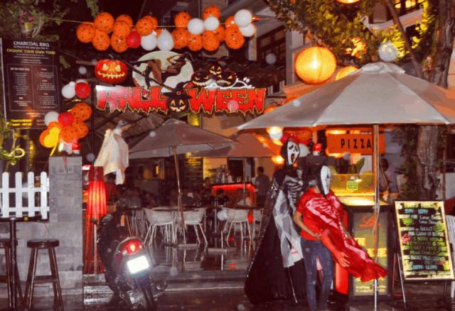 Đêm Halloween mang đậm phong cách Hội An