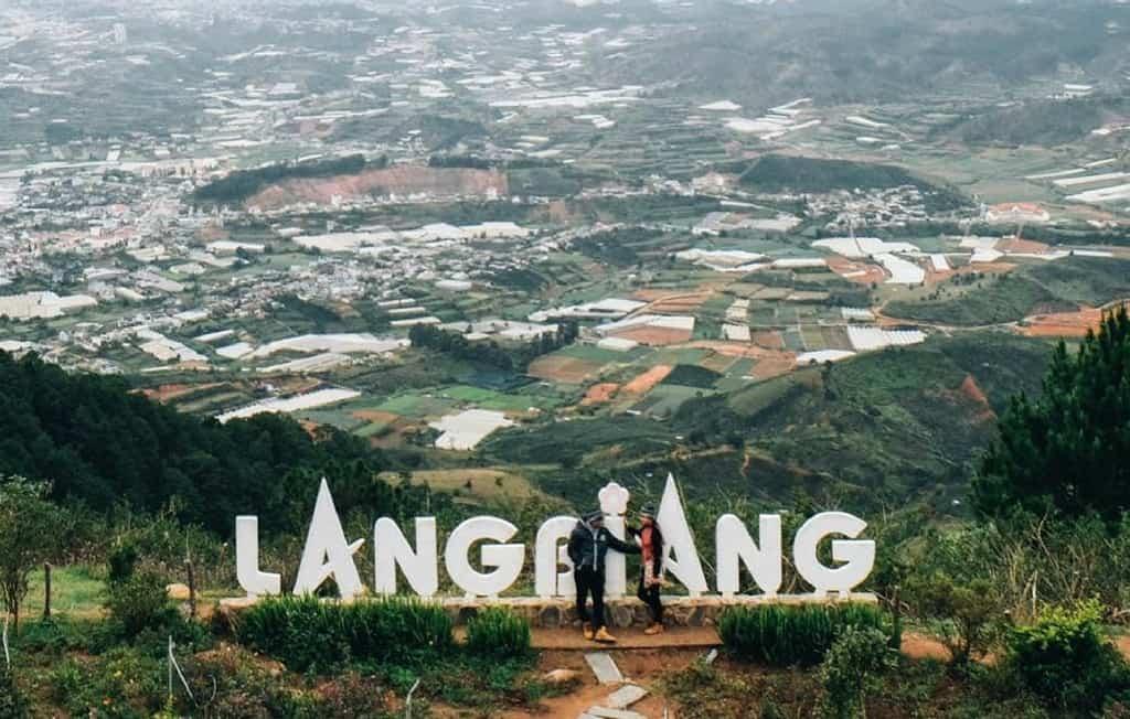 Núi Lang Biang (Ảnh sưu tầm)