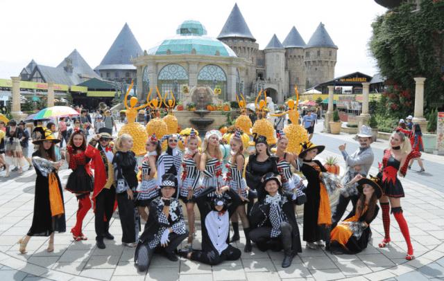 Lễ hội Halloween Sun World Bà Nà Hills 2017 tại Đà Nẵng 10