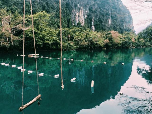 Suối Nước Moọc Quảng Bình 04