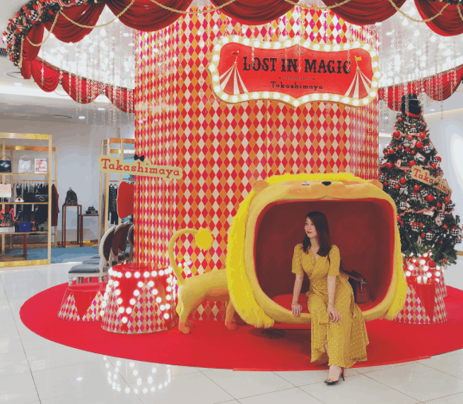 This year's Takashimaya is under the theme of Lost In Magic