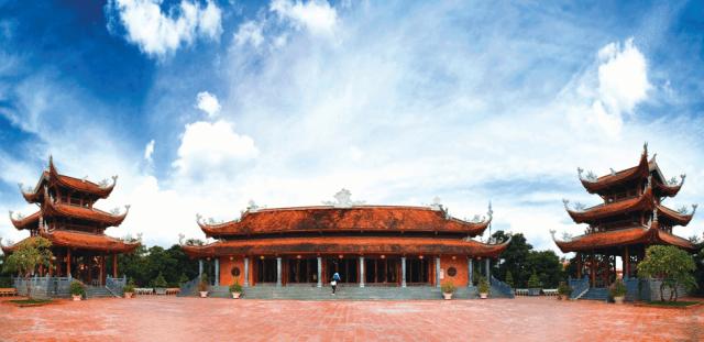 Ngôi thiền viện mới được khánh thành từ năm 2014