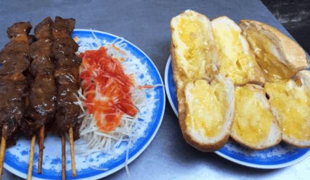 Bánh mì bò nướng bơ Campuchia (Ảnh ST)