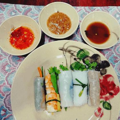 Đồ ăn trong nhà hàng Gạo (Ảnh ST)