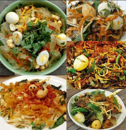 Bánh tráng trộn - món ăn vặt giá rẻ Sài Gòn (Ảnh ST)