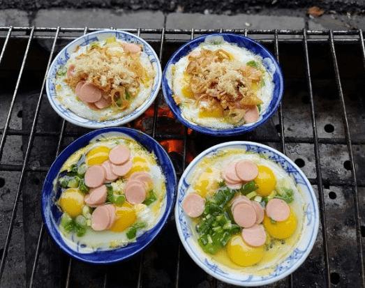 Món trứng nướng (Ảnh ST)