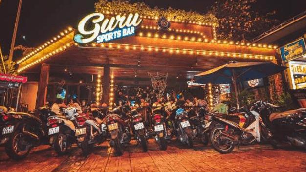 Nhà hàng Guru Sports Bar (Ảnh ST)