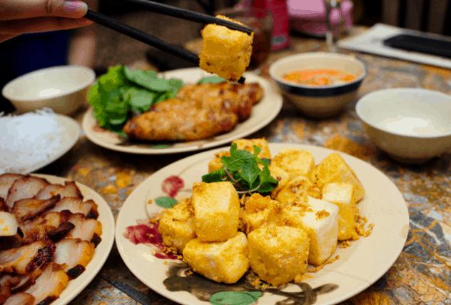 Đồ ăn trong nhà hàng Quê Nhà (Ảnh ST)
