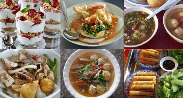 Đồ ăn vặt ở Sài Gòn (Ảnh ST)