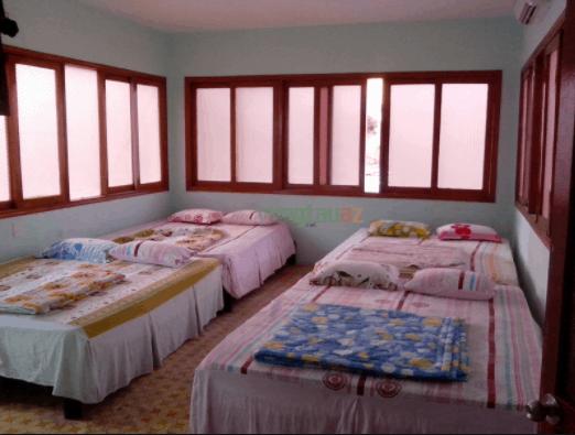 Phòng nghỉ dành cho các bạn trẻ đi nhóm đông thích ở cùng nhau
