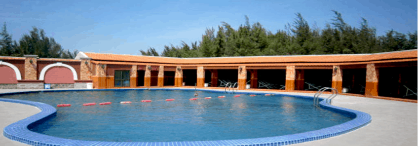 Hồ bơi thư giãn dành cho khách du lịch