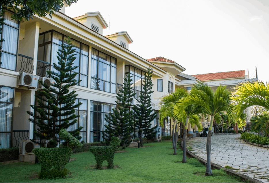Khu vực gần nơi nghỉ ngơi của du khách