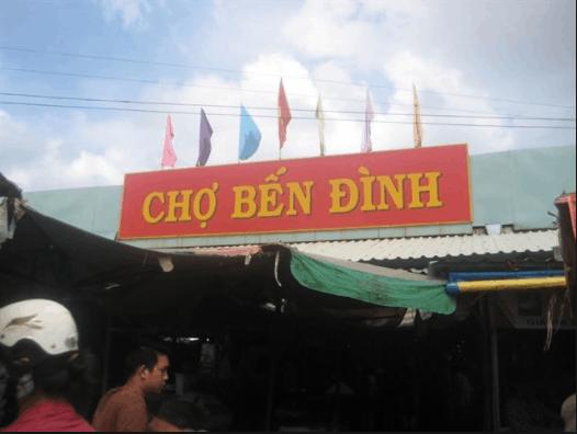 Chợ Bến Đình nằm trong thành phố Vũng Tàu