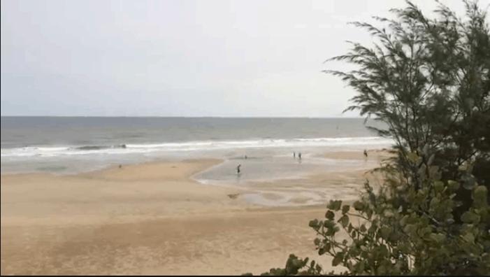 Sự bình yên nơi biển cả