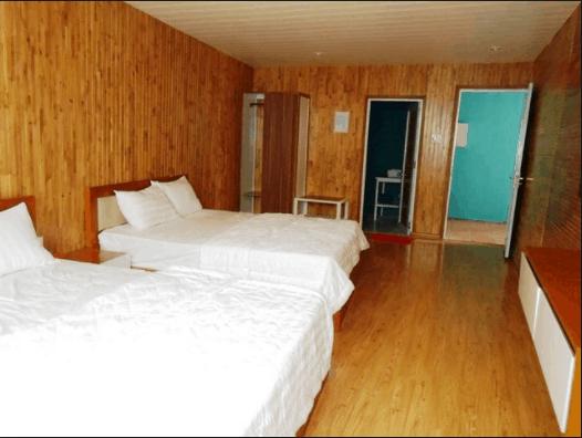 Phòng ngủ sạch và có nét hiện đại