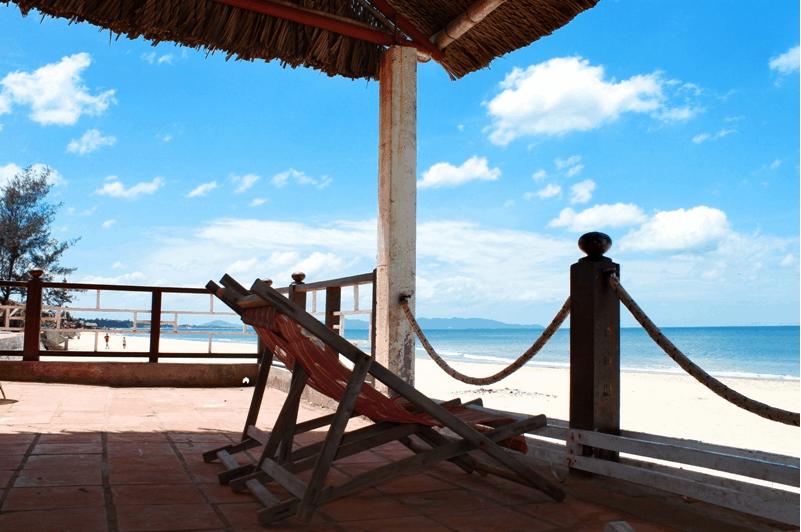Không gian đẹp để nằm thư giãn, ngắm biển
