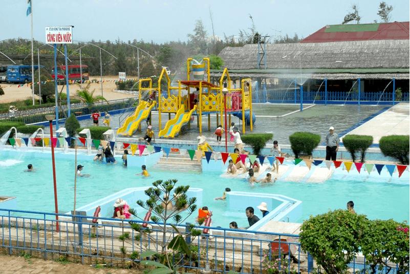 Công viên nước dành cho trẻ con ở khu du lịch