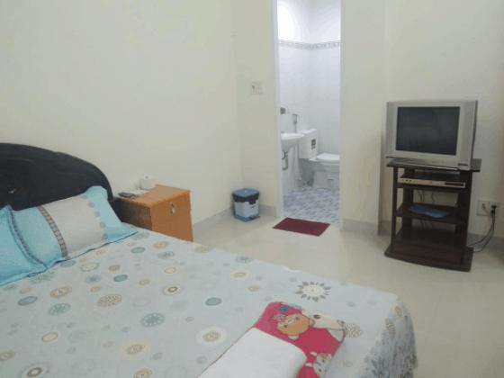 Phòng ngủ đầy đủ tiện nghi và sạch sẽ