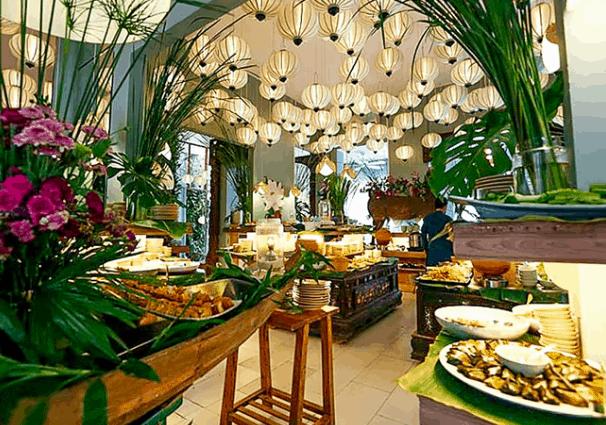 Vẻ đẹp của nhà hàng Gạo (Ảnh ST)