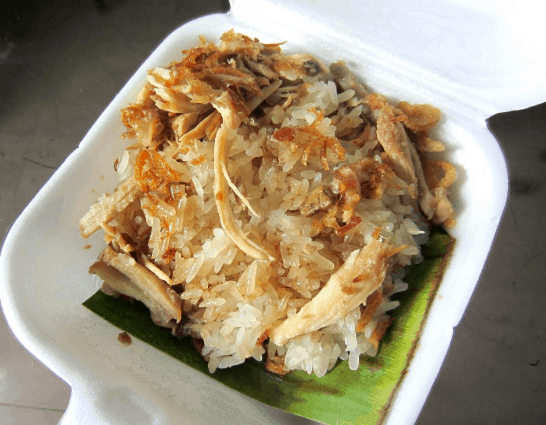 Món xôi gà (Ảnh ST)