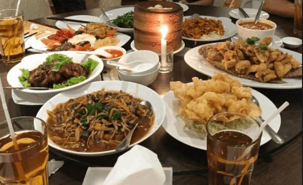 Đồ ăn trong nhà hàng (Ảnh ST)