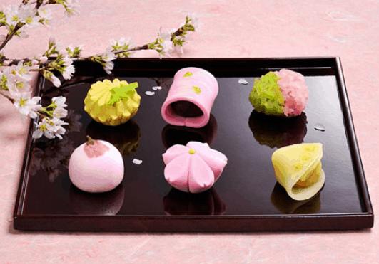 Bánh wagashi nhật bản - đặc sản Sài Gòn (Ảnh ST)