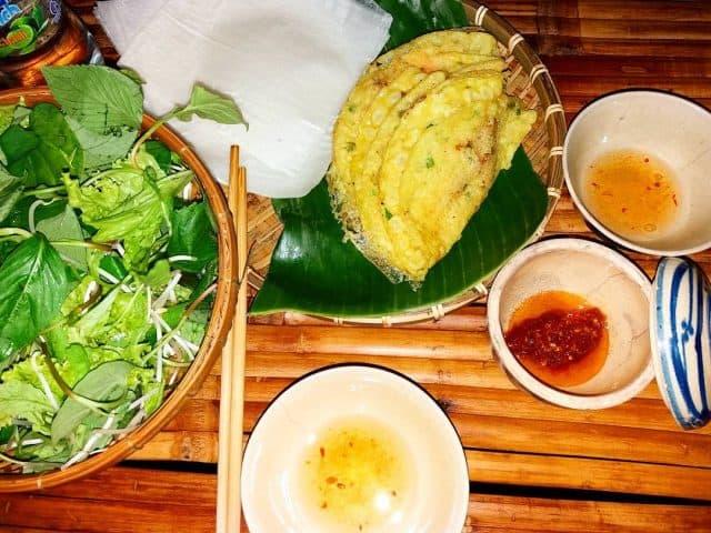 Các quán bánh xèo nổi tiếng ở Quảng Ngãi (Ảnh: Sưu tầm)