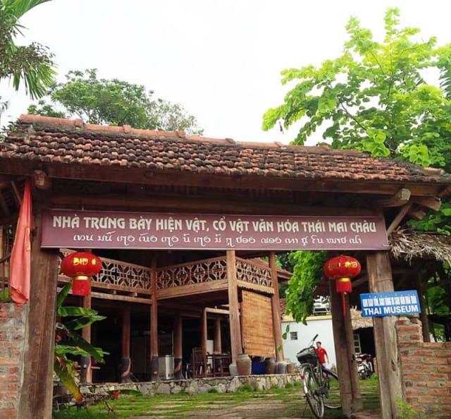 Nhà trưng bày hiện vật, cổ vật văn hóa Thái - Mai Châu