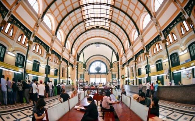 Lối kiến trúc độc đáo kết hợp giữa phong cách Châu Âu với cách trang trí của người Châu Á