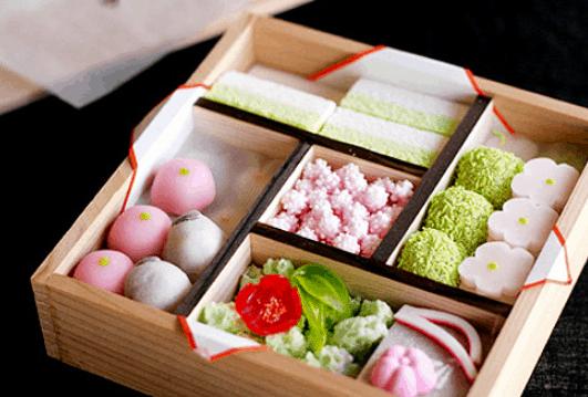 Bánh wagashi nhật bản (Ảnh ST)