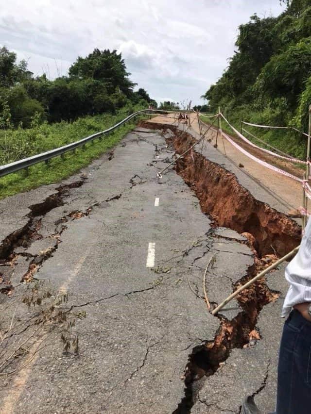 Đường đi Bình Thuận Lâm Đồng cấm các phương tiện đi lại