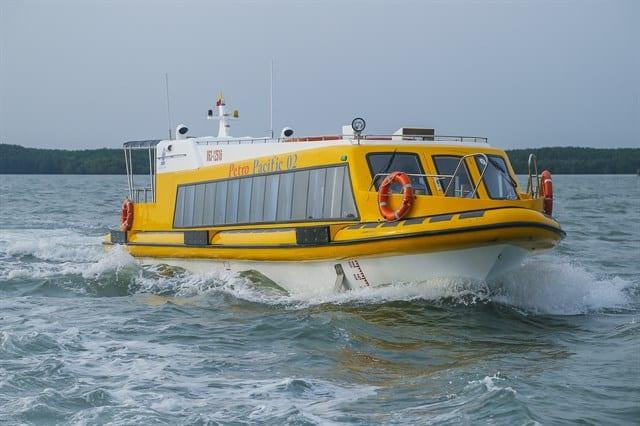 tàu cao tốc sài gòn - vũng tàu
