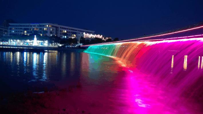 Chiêm ngưỡng cảnh đẹp lung linh tại cầu Ánh Sao